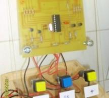 A PIC16F84A Alarm Clock