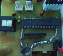 Augmenting a Microcontroller using PIC16F886