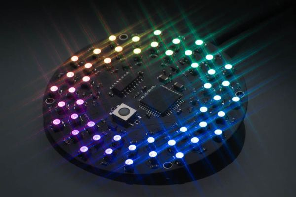 Aurora 48 - 48 RGB LED Sequencer using PIC24FV16KA304