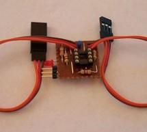 Servo Camera Switch using PIC12F675 microcontroller