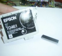 Reverse Engineering to Emulate Ink Cartridges for a Epson Printer using PIC18F