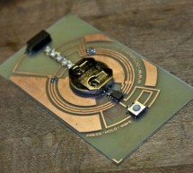 Complete Circuit Board Lab & POV Business Card using PIC12F508 microcontroller
