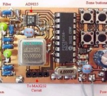Direct Digital Synthesis (DDS) using PIC16F84 microcontroller