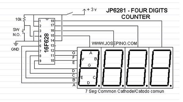 JP6281-FOUR DIGITS COUNTER