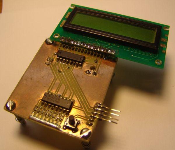 LCD serial