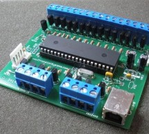 24 Channel USB Connected LED Controller, upto 1A per Channel using PIC18F4550