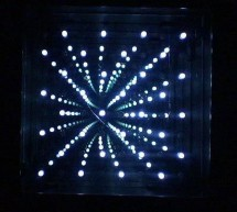 8×8 LED Array Multiplexed Infinity Mirror using PIC18F1320