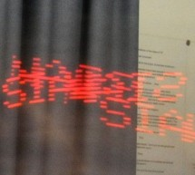 An LED Persistance Of Vision Name Badge using PIC16F88