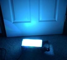 DMX-512 RGB LED Wash Light Control Board using PIC16F688