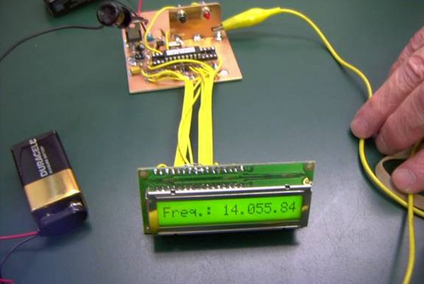 PIC Frequency Counter