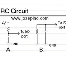 Read analog values without an ADC using PIC12F675 microcontroller