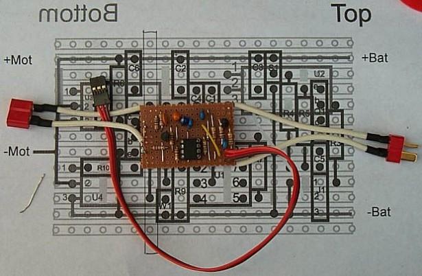 Schematic Brushed Motor ESC