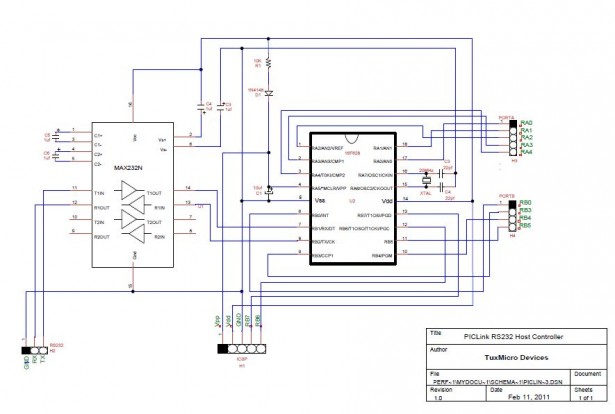 Schematic PIC LINK
