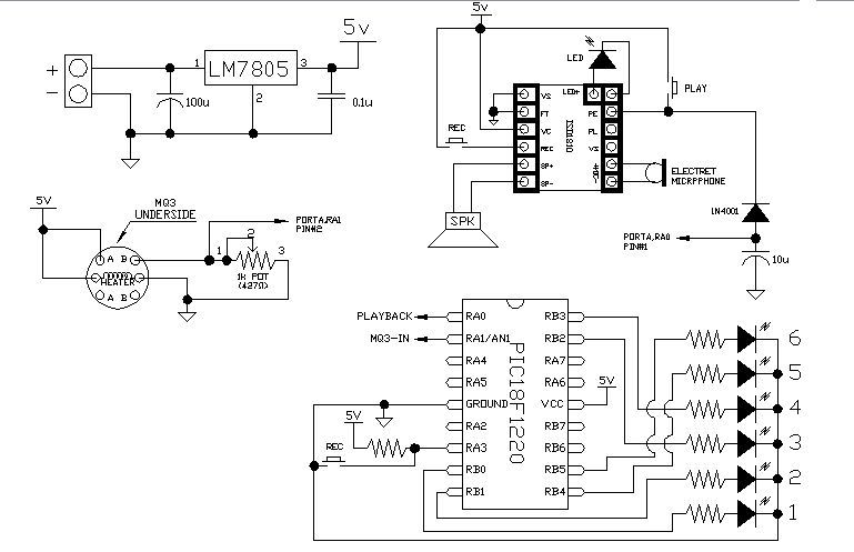 the talking breathalyzer mark ii using pic18f1220