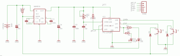 Schematic Tiny Remote