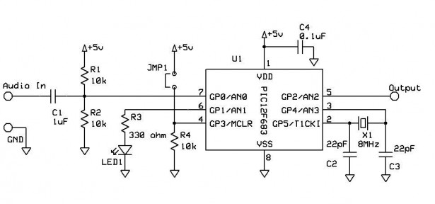 Schematic Touch Tone Decoder