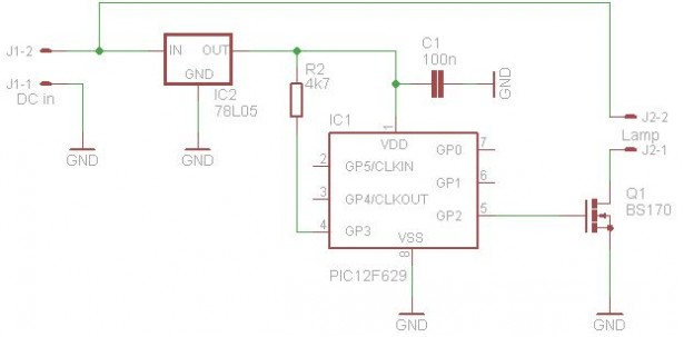 Schematic candle power