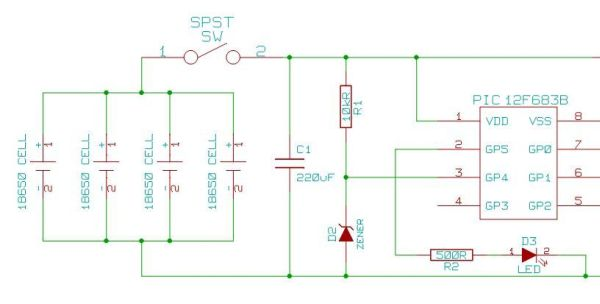 Schematic portable charger