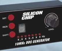 10MHz DDS Sine/Square Function Generator based on the AD9835 using PIC16F628