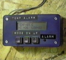 A PIC-Based Temperature Alarm using PIC16C84