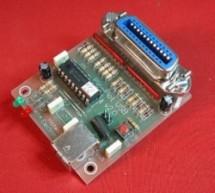 Pic-Plot2 GPIB to USB converter using PIC16F628