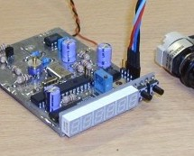 DDS/PLL based VFO synthesizer using PIC16F876