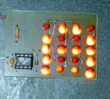 How to drive a lot of LEDs using PIC12F microcontroller