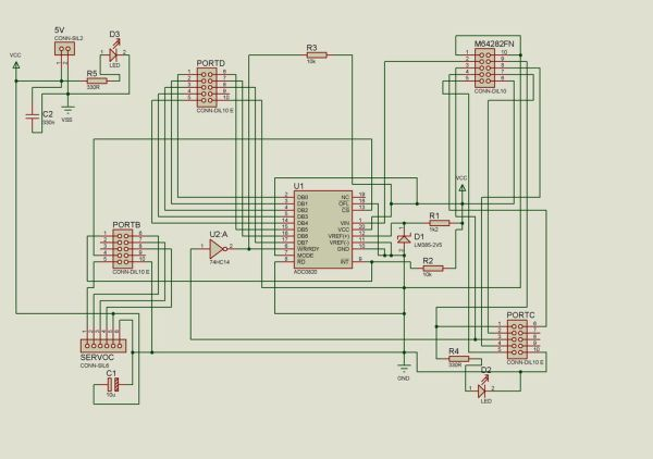 schematics and how the system actually functions