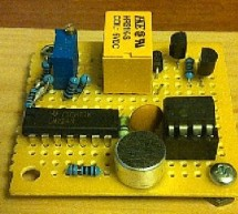 How to make a Clap-Clap on / Clap-Clap Off switch circuit! using PIC10F222
