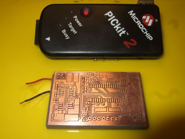 wearable PICkit2 clone