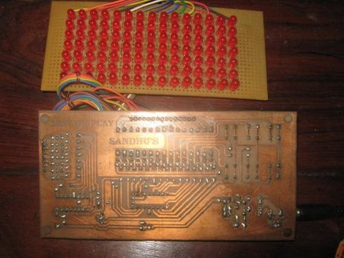 15x7 led Display