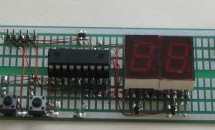 2 Digit up/down Counter using PIC16F628A