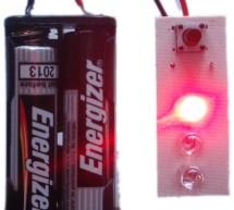 3 LED Bike Light for PIC10F200
