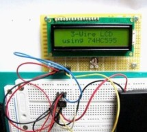 Serial LCDs you can make your own using PIC12F683