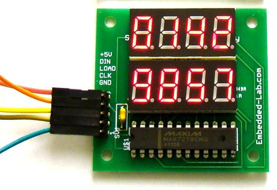 8Digit SPI Display