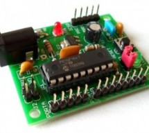 Breakout board for PIC16F1847 microcontroller