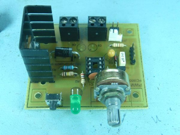 Pwm Dc Motor Controller For Pic12f683