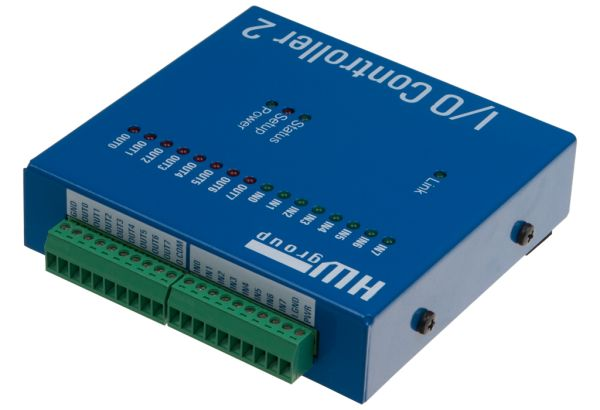 IO Controller with serial port CLI