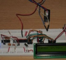 LCD Module Control over IR Link using PIC16F690