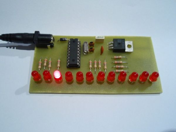 LED Chaser program