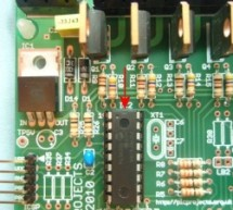 8 Channel PWM Power MOSFET LED Chaser for PIC16F628A