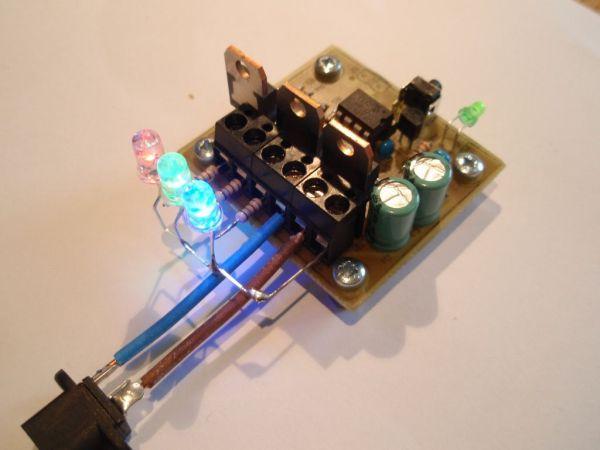 MOSFET RGB  LED PWM Driver