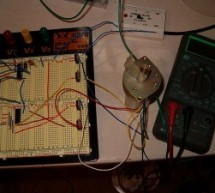 Stepper Motor Controller using pic16f628a