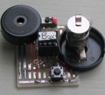 MUSIC BOX using PIC12F629 Microcontroller