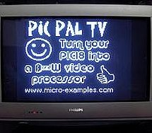 PIC PAL Video Library using pic18f4620