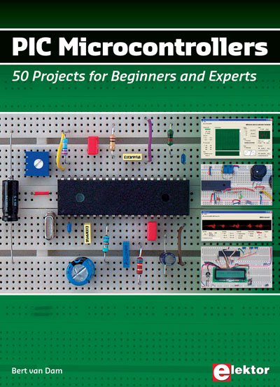 PIC Microcontrollers 50 Projects for Beginners & Experts