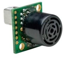 Sonar range finder using PIC16F88 Microcontroller