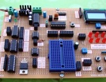Experimenter's board for enhanced mid-range PIC microcontrollers (PIC16F1827 and PIC16F1847)