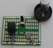 Touch Switch using PIC12F629 Microcontroller
