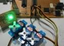 Serial Addressable RGB PWM LED Driver using PIC16F628A